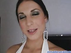 Racquel is a gorgeous twenty year old brunette hair, with all natural whoppers and a shut shaved wet crack.  This Child is a total 10-Pounder engulfing freak, that can't appear to be to get substantially cum in will not hear of mouth. When u watch what this babe does to my di