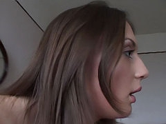 Blue eyed babe with fat milk sacks procurement a trim off be required of fat cock